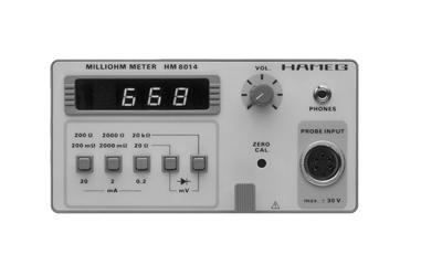 Hameg HM8014 Milliohm-Meter