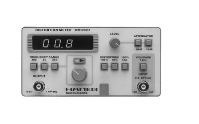 Hameg HM8027 Klirrfaktor Messgerät