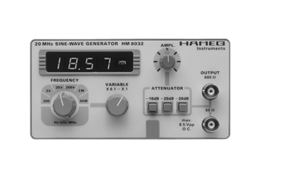 Hameg HM8032 Sinusgenerator