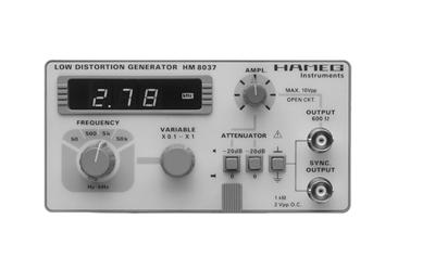 Hameg HM8037 Klirrarmer Sinusgenerator