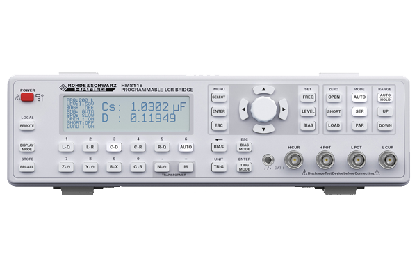 R&S-HM8118 LCR Meter