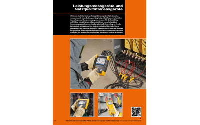 Fluke-Leistungsmessgeräte-Katalog