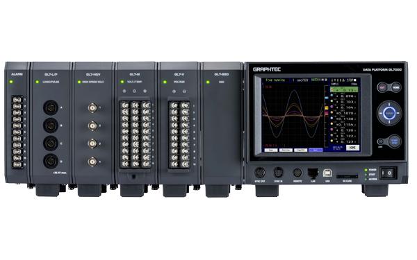 Graphtec-GL7000 Messdaten Erfassungssystem