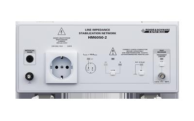 R&S-HM6050 Netznachbildung