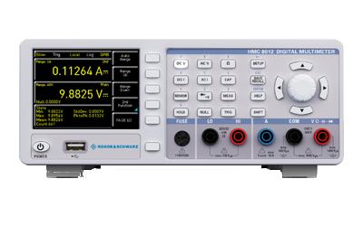 R&S-HMC8012 Multimeter halb19 Zoll Einbaumass