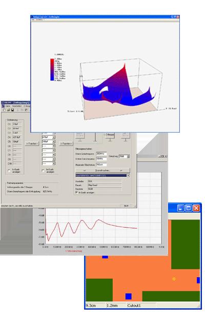 DCC Silent Software Simulation und Optimierung von Leiterplatten-Entkopplungen