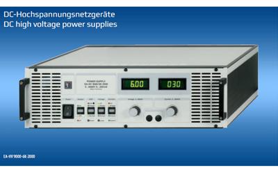 EA-Elektro-Automatik Hochspannungs-Netzgeräte
