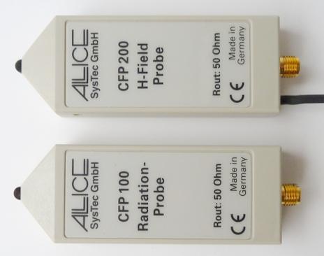 HZ552 H-Feld Sonde; HZ556 Einstrahlsonde
