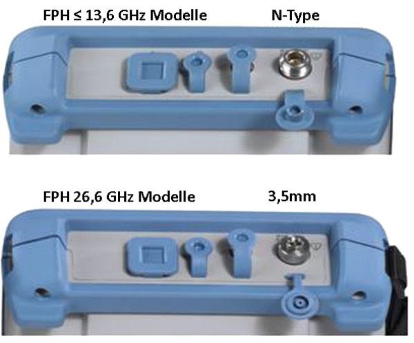 Rohde & Schwarz FPH Spectrum Rider RF-Signal Anschluss - Allice Messtechnik