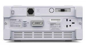 Rohde & Schwarz HM6050-Netznachbildung Rückseite Erdungsanachluss - Allice Messtechnik