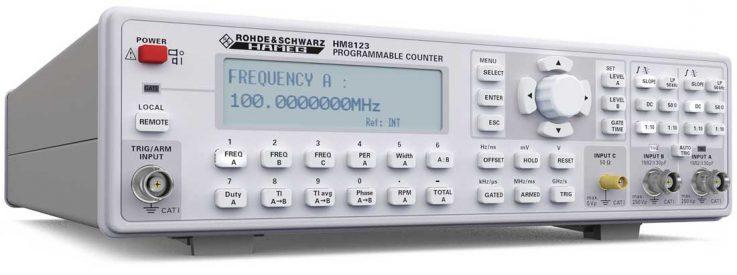 Rohde & Schwarz HM8123 Frequenzzähler - Allice Messtechnik