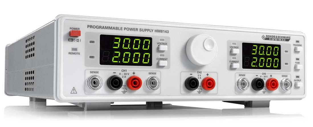 Rohde & Schwarz HM8143 Netzgeraet, elektronische Last - Allice Messtechnik