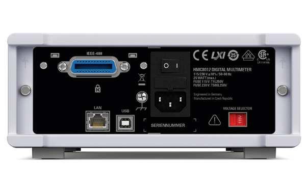 Rohde & Schwarz HMC8012-G GPIB Schnittstelle auf Geräterückseite - Allice Messtechnik