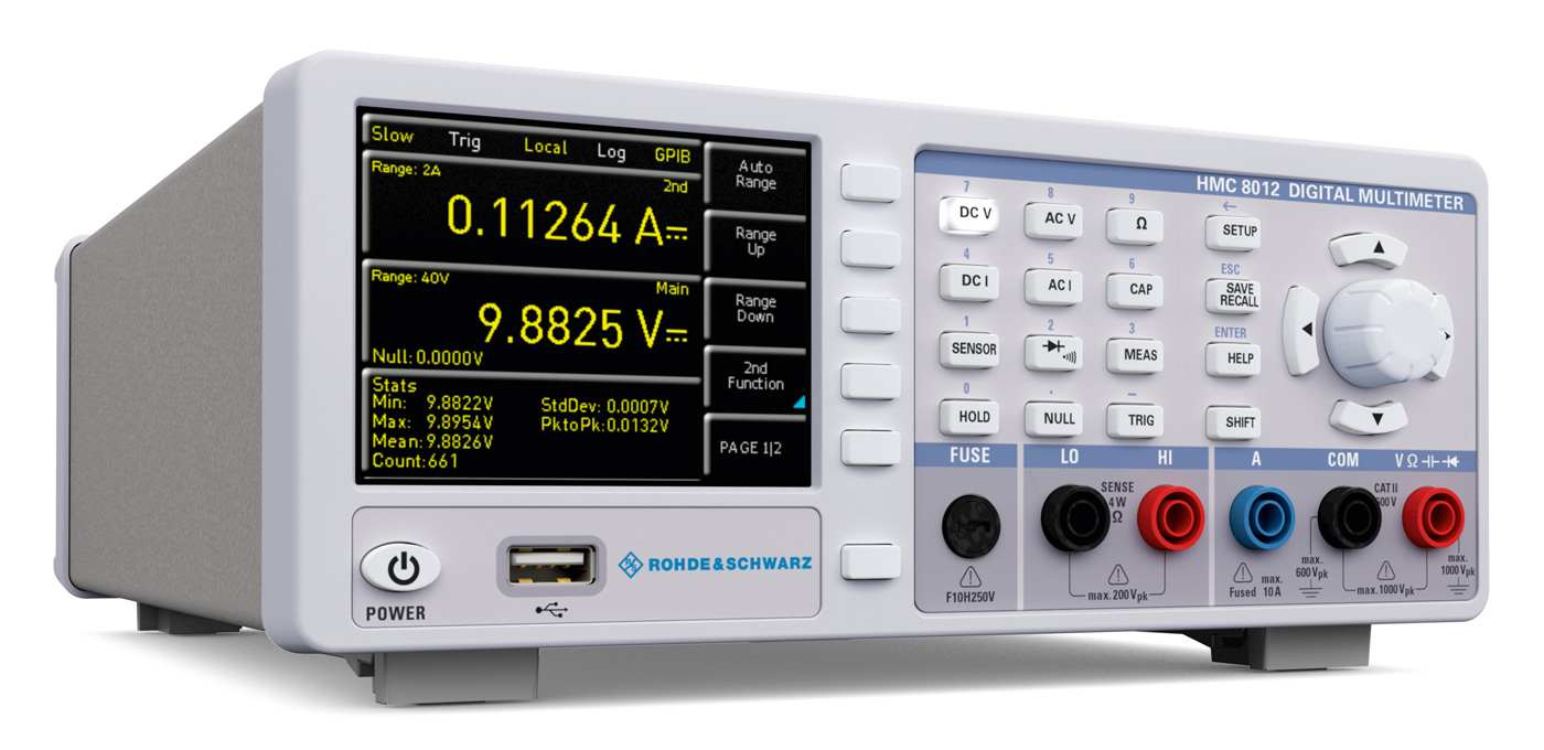 Rohde&Schwarz HMC8012-G Multimeter