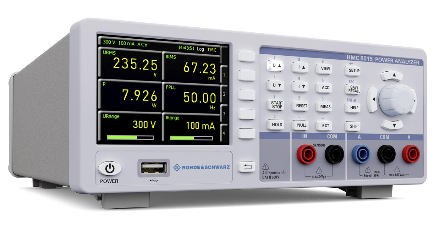 Rohde & Schwarz HMC8015 Leistungsmessgerät - Allice Messtechnik