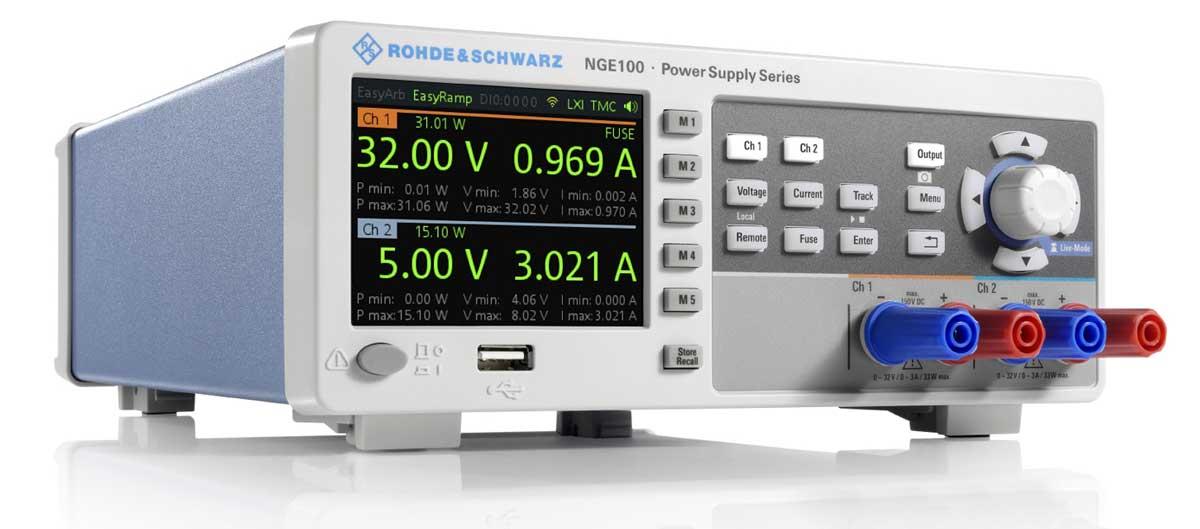 Rohde & Schwarz NGE102 2-Kanal Netzgerät - Allice Messtechnik