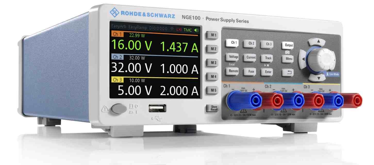 Rohde&Schwarz NGE-COM3A Netzgerät