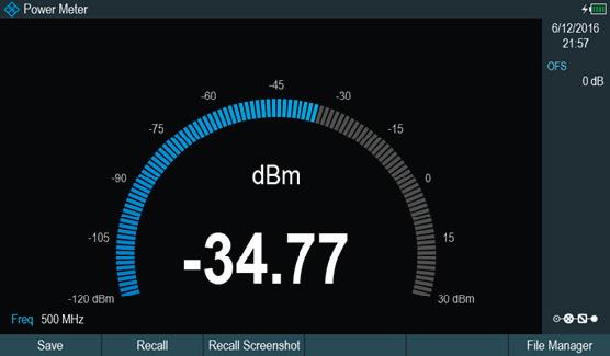 Rohde & Schwarz ZPH Cable Rider - Kanalleistungsmessung - Alllice Messtechnik