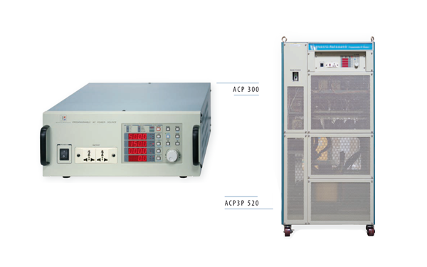 EA AC-Quellen 1-phasig, 3-pasig 300V, 600V