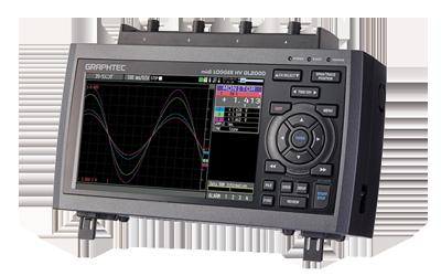 Graphtec GL2000 Logger 4 Kanal für Netzspannungen CAT III 600Vrms