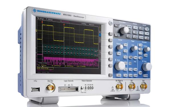 Rohde Schwarz RTC1000 Oszilloskop