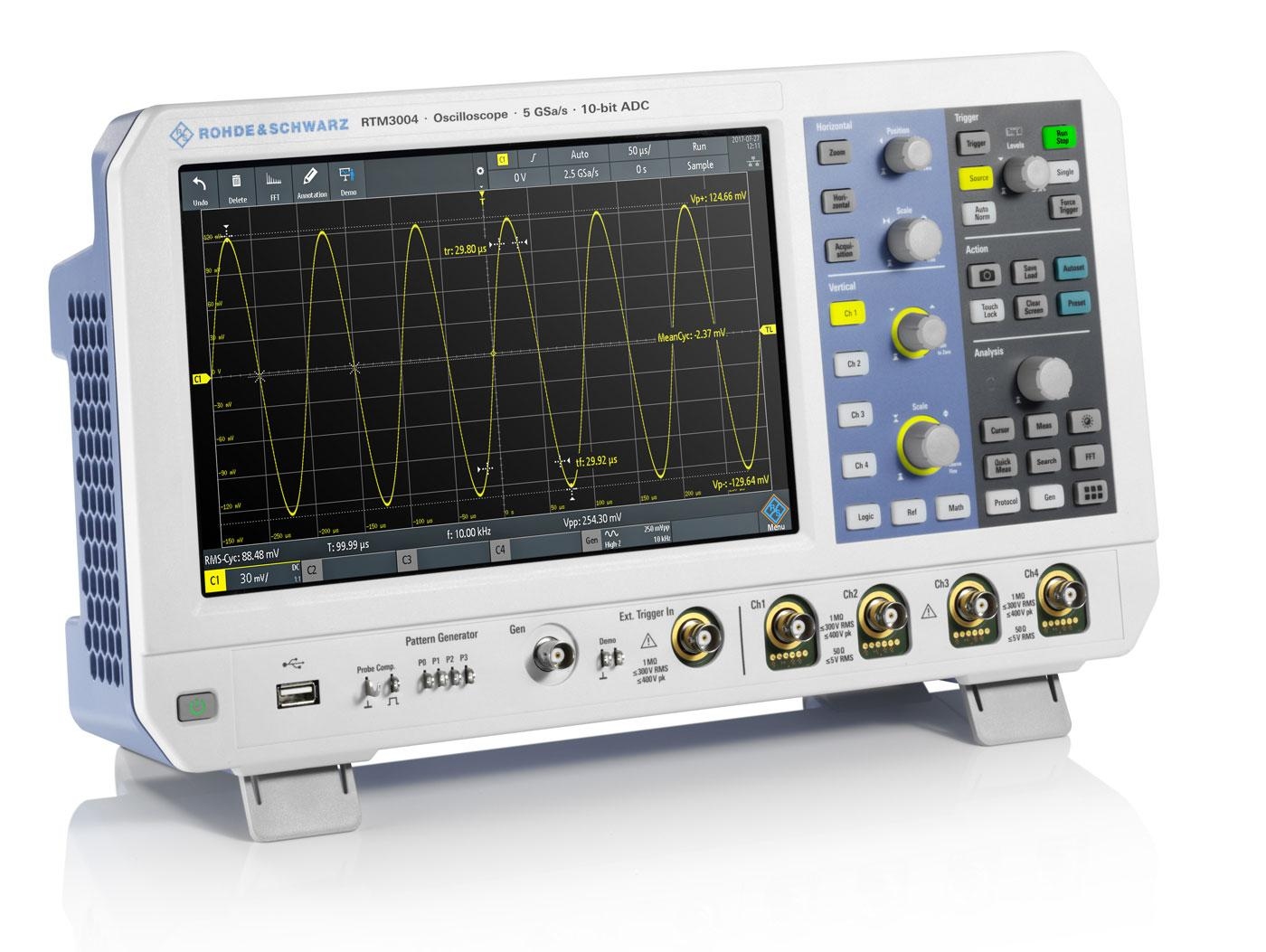 Rohde & Schwarz RTM3004 5GSa/s Oszilloskop