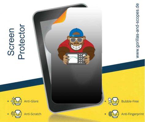 GaS-Screen-Protector Bildschirmfolie - Allice Messtechnik