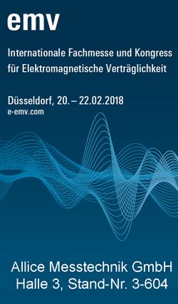 Besuchen Sie uns auf der EMV Messe Düsseldorf 2018 Allice Messtechnik GmbH