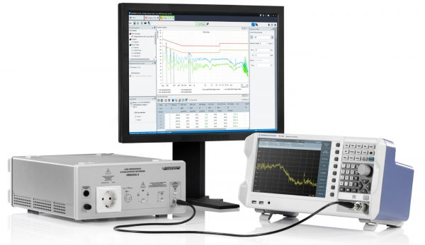 Rohde & Schwarz FPC Spektrumanalysator ELEKTRA EMI Testsoftware Netznachbildung HM6050