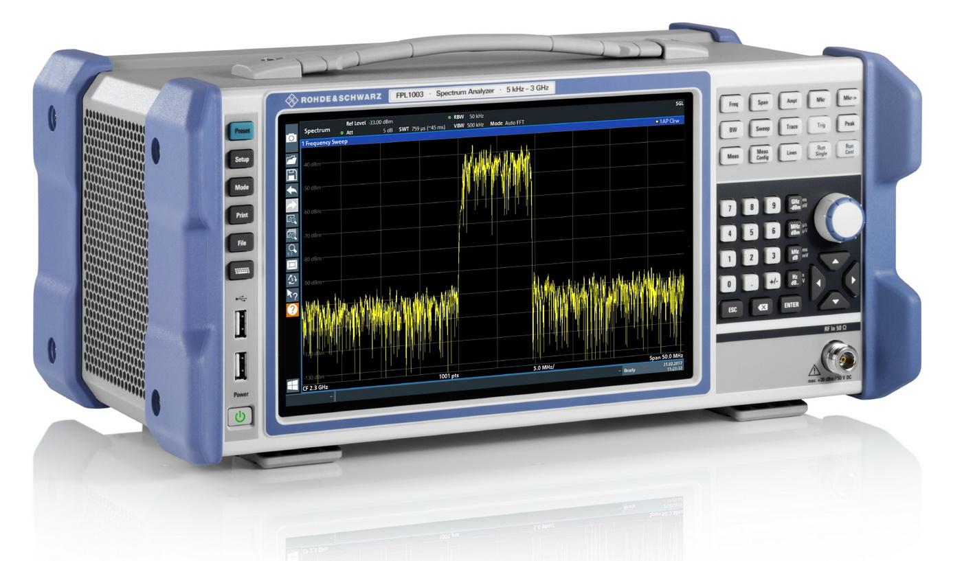 Rohde & Schwarz FPL1000 Spektrumanalysator - ALLICE Messtechnik