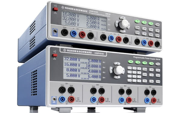Rohde & Schwarz HMP-Serie 2-/ 3-/ 4-fach Netzgeräte 188W bzw 384W Gesamtleistung