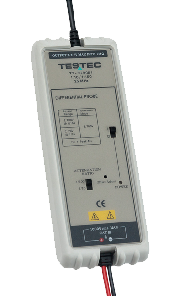 Testec SI9001 Differenz Tastkopf - Allice Messtechnik