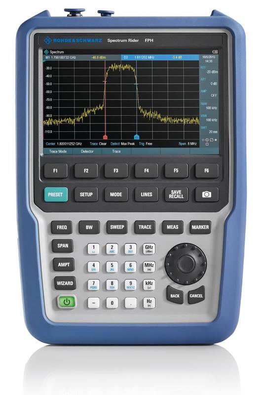 Rohde & Schwarz FPH Spectrum Rider - Spektrumanalysator Allice Messtechnik