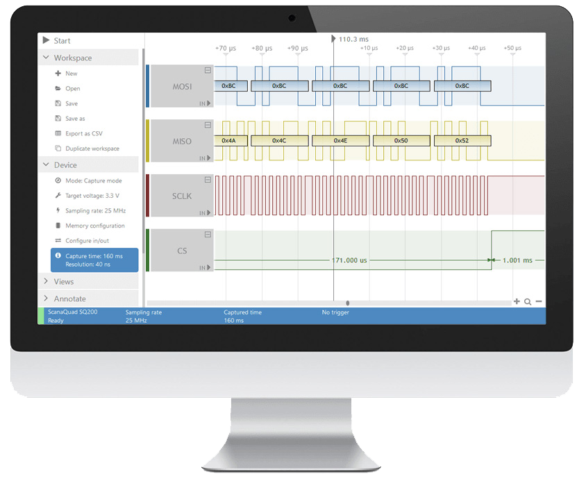 IkaLogic ScanaStudio Logic Analyzer Software - Allice Messtechnik