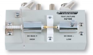 Rohde & Schwarz HZ188 SMD Test Adapter fuer HM8118 LCR-Meter oder ähnliche Geräte - Allice Messtechnik