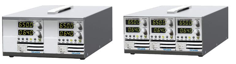 TDK-Lambda Z+ Netzgeräte im 2-fach und 3-fach Gehäuse plus2