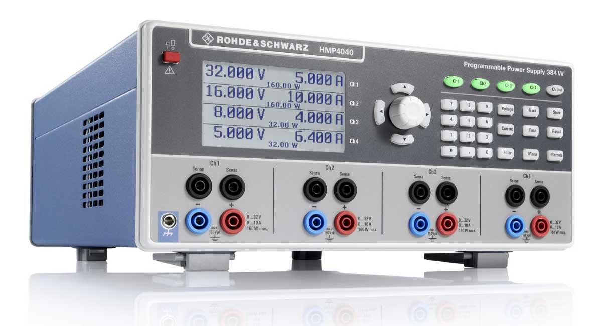 Rohde & Schwarz HMP4040 4-fach Netzgerät - Allice Messtechnik