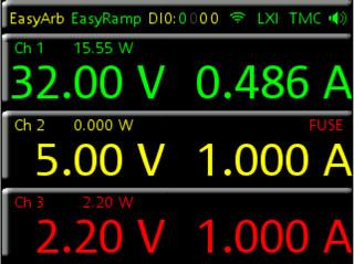 Rohde & Schwarz NGE103 Display -Allice Messtechnik
