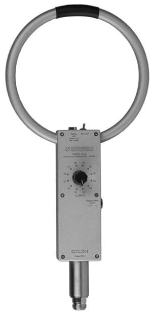Schwarzbeck FMZB1512 aktive, geschirmte handgeführte Empfangsrahmenantenne - Allice Messtechnik