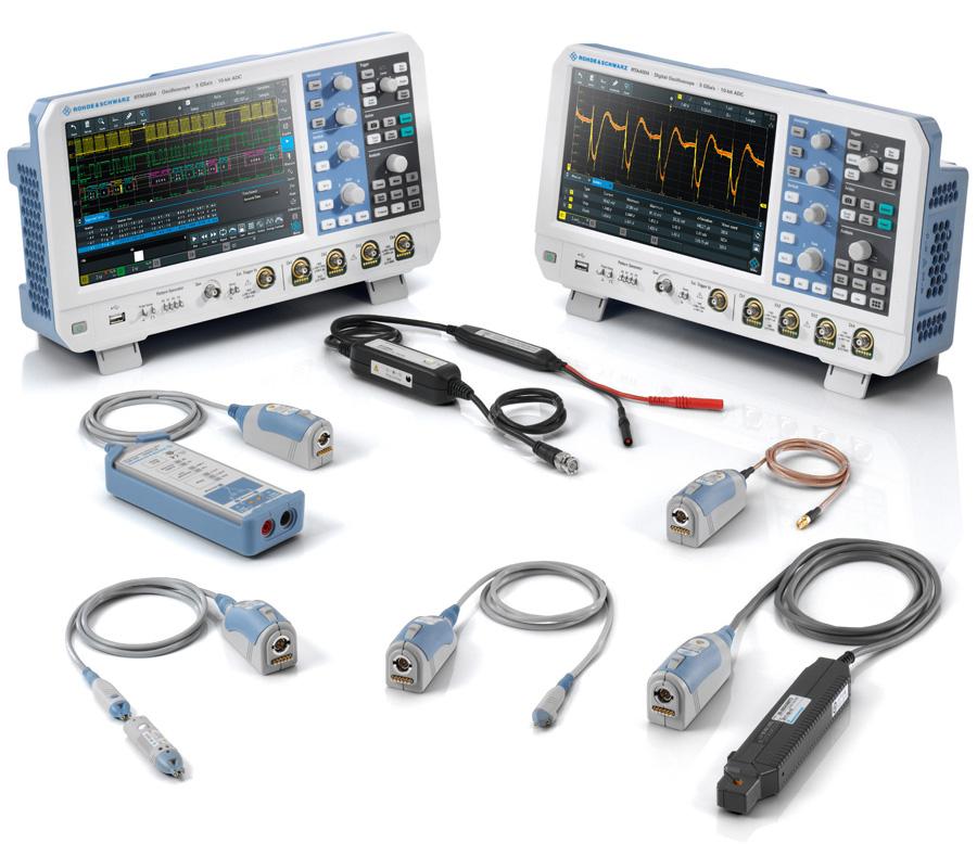 Rohde & Schwarz Probe Promotion RTA4000 RTM3000 - Allice Messtechnik