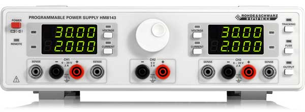Rohde Schwarz HM8143 Arbirtary Netzgerät 3 Kanal - Allice Messtechnik