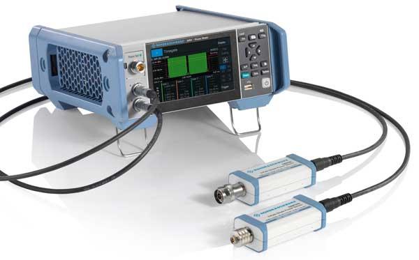 Rohde & Schwarz NRX Power Meter mit NRP-Sensoren - Allice Messtechnik