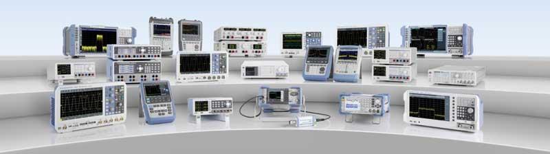 Rohde Schwarz Geräte Übersicht Value Instruments - Allice Messtechnik