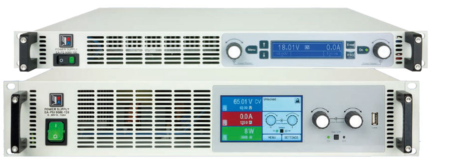 EA-PS9000-1U und EA-PSI9000-2U Hochleistungs Netzgeraete - Allice Messtechnik