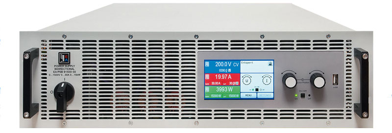 EA PSB9000 3U bidirektionales Netzgeraet - Allice Messtechnik