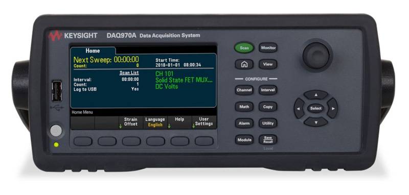 Keysight DAQ970A Data Aquisition System - Allice Messtechnik