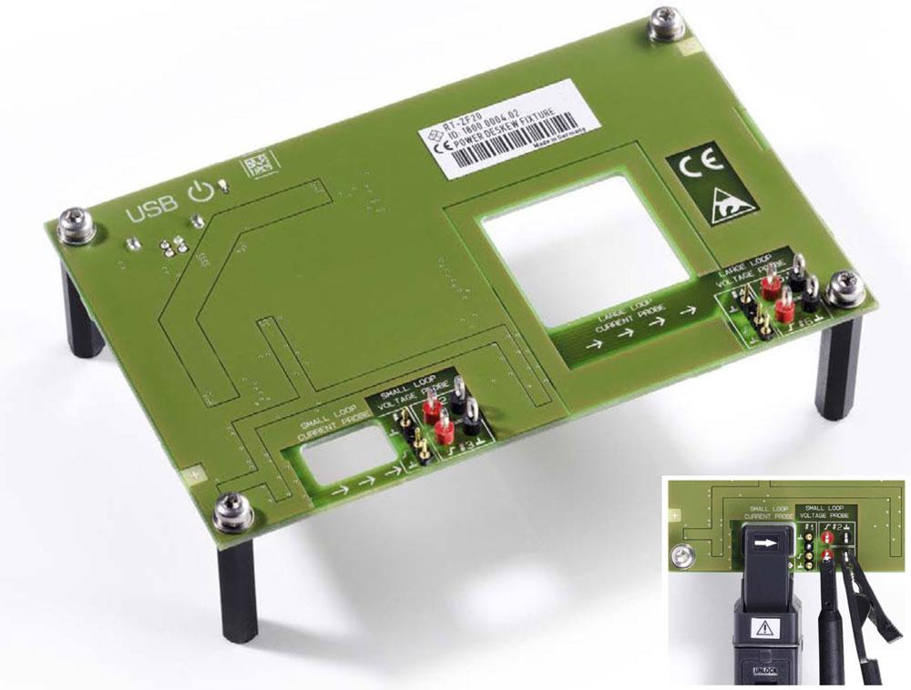 Rohde & Schwarz RT-ZF20 Deskew-Testfixture zur Laufzeitkompensation zwischen Tastköpfen und Stromzangen, für Leistungsmessung mit Oszilloskopen - Allice Messtechnik