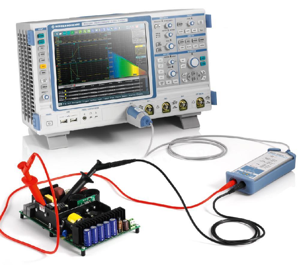 Rohde & Schwarz RT ZHD HV Differenz Tastkopf mit RTE Oszilloskop - Allice Messtechnik