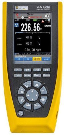 Chauvin-Arnoux ASYC-IV C.A.5293 Multimeter - Allice Messtechnik