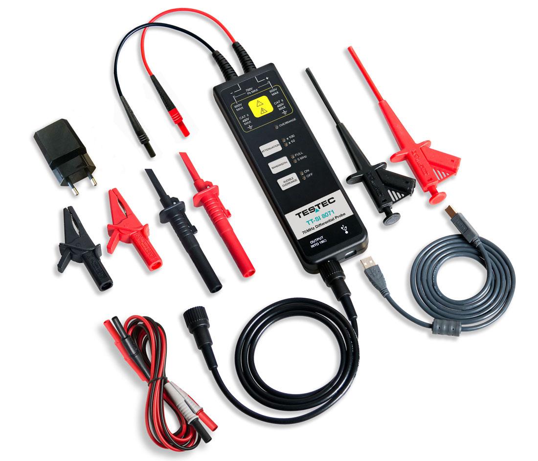 Testec TT-SI-8000-Serie Differenz-Tastkoepfe - Allice Messtechnik